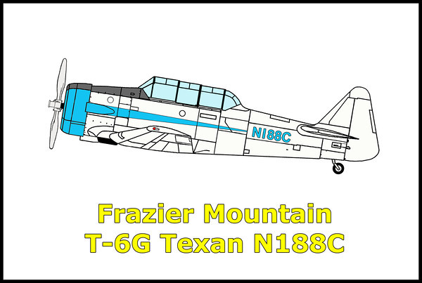 Frazier Mountain T-6G Texan N188C 7/30/11