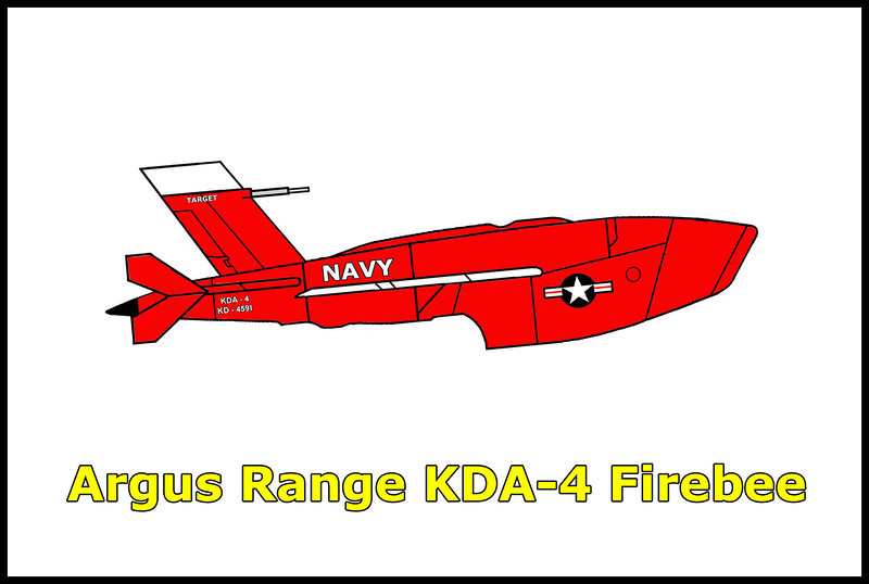 On an unknown date, the US Navy Ryan KDA-4 Firebee target drone #KD-4591 crashed near the boundary of the China Lake Naval Weapons Center in the Argus Range west of the town of Trona, California.<br /> <br /> The location of the Firebee crash site was given to me by Tom Gossett about six years ago, finally got around to checking it out.