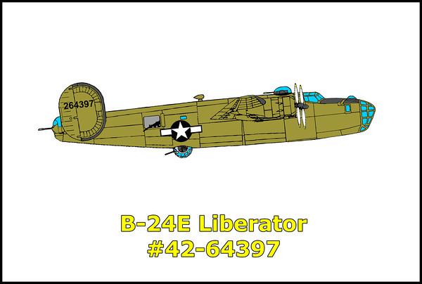 B-24E Liberator #42-64397 3/8/14