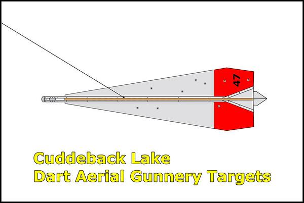 Cuddeback Lake Dart Aerial Gunnery Targets 11/1/14