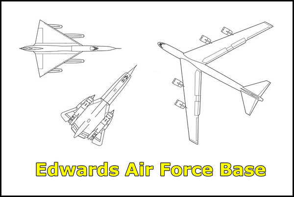 Edwards Air Force Base 4/7/13