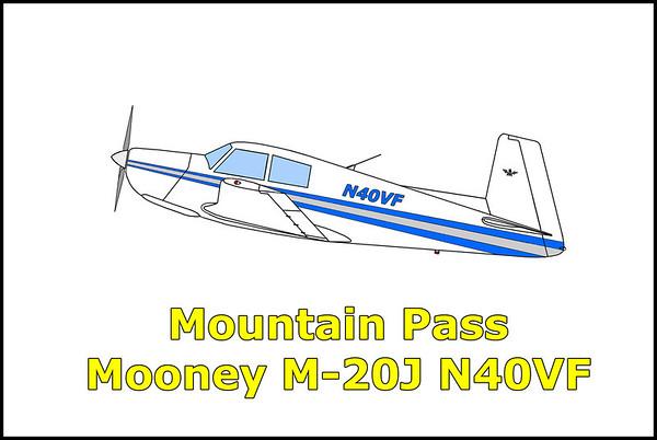 Mountain Pass Mooney M-20J N40VF 12/29/12